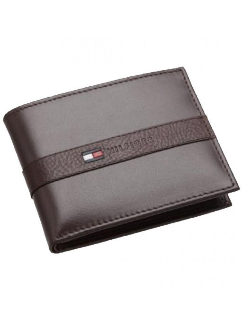 محفظة تومي هيلفيغر للرجال Ranger passcase - بني