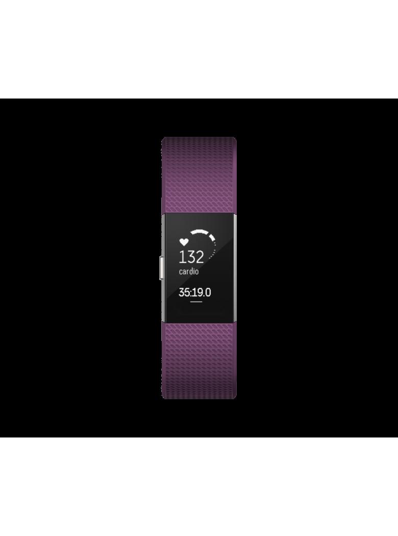 Fitbit charge HR سوار فيت بيت شارج الرياضية لون أرجواني