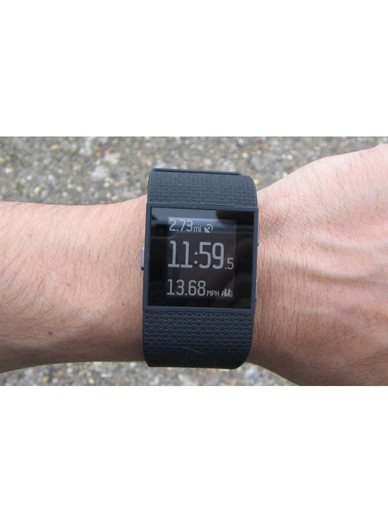 ساعة فيتبيت سيرج الرياضية Fitbit surge أسود