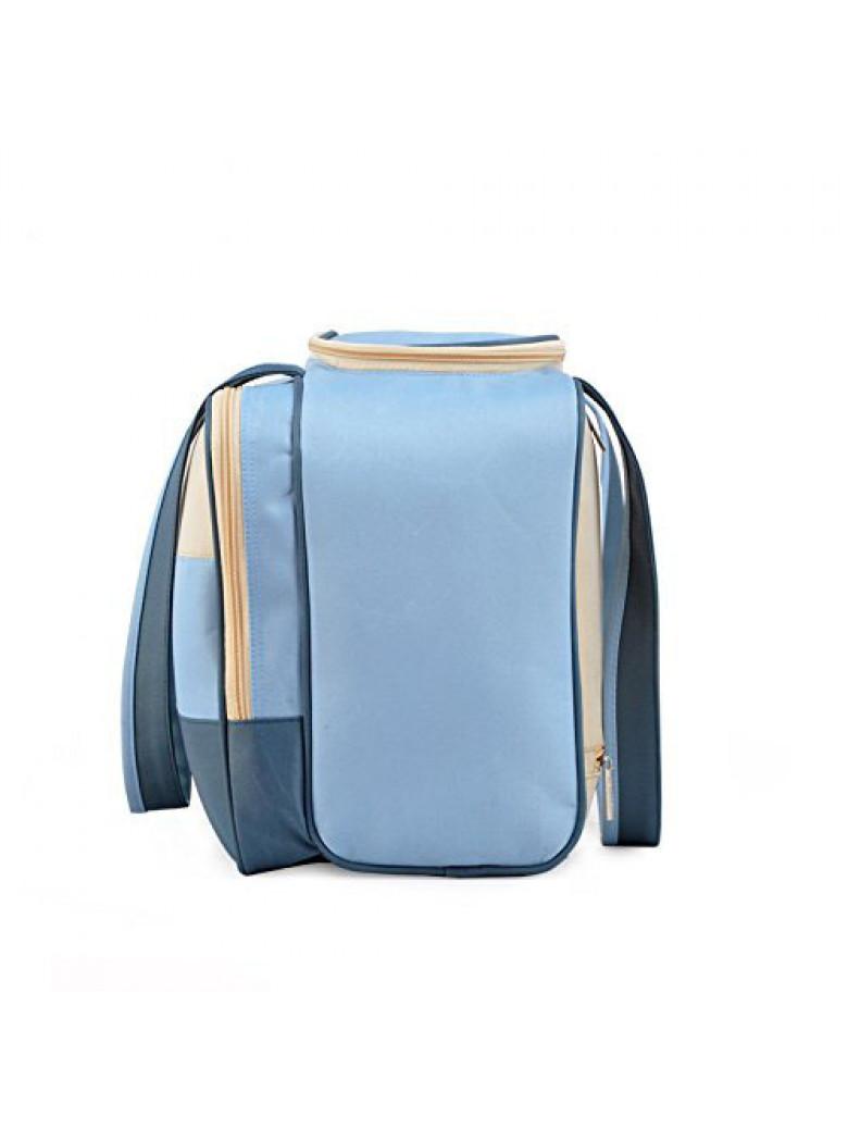 insular شنطة غيار لمستلزمات الأطفال لون لون أزرق