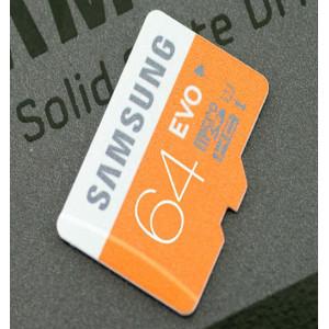 samsung evo ذاكرة مايكرو سامسونج 64 جيجا بايت للجوال و التابلت